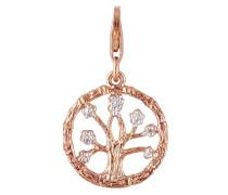 Charm aus rosévergoldetem 925 Sterling Silber