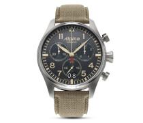 Schweizer Chronograph Startimer Pilot AL-372BGR4S6