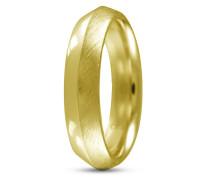 Ring Facet Edge aus vergoldetem 925 Sterling Silber-60