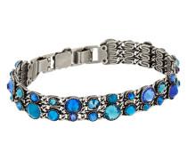Armband Katerfalls aus Metall mit Glassteinen