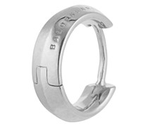 Creole Facet Edge aus 925 Sterling Silber