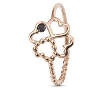 Ring aus rosévergoldetem 925 Sterling Silber mit Spinell-48