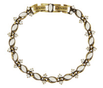 Armband Mini Treasure aus Metall mit Glassteinen