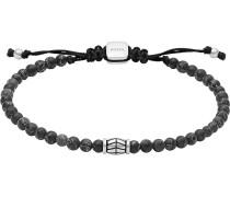 Armband aus Stein und Edelstahl
