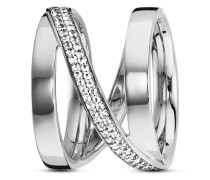 Ring Sensitive Dancer aus 925 Sterling Silber mit Topasen -50
