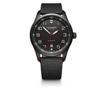 Schweizer Automatikuhr Airboss Mechanical Black Edition 241720