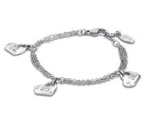 Armband Woman´s Heart aus Edelstahl