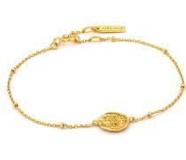 Armband Emblem Beaded Bracelet 925er Silber