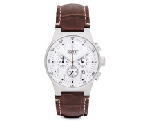 Chronograph Time Equalizer Silver Chrono ES000T31021