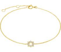 Armband aus 585 Gelbgold