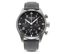 Schweizer Chronograph Startimer Pilot AL-372B4S6