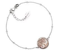 D-Armband 925er Silber 13 Zirkonia