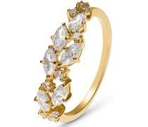 Damenring aus 375 Gelbgold