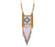 Halskette Birdwhite aus Messing