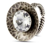Ring Rivoli Concave mit Swarovski-Stein