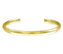 Armreif Facet Edge aus vergoldetem 925 Sterling Silber