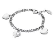 Armband Woman´s Heart aus Edelstahl & Perlmutt