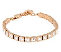Armband Cone/B rosévergoldet mit Swarovski-Steinen