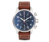 Schweizer Automatikchronograph Startimer Pilot AL-725N4S6