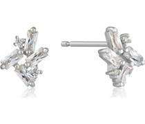 Ohrstecker Glow Stud Earrings 925er Silber Zirkonia