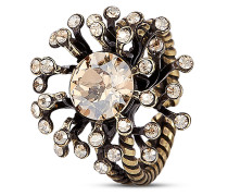 Ring Petit Four de Fleur mit Swarovski-Steinen