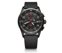 Schweizer Automatikchronograph Airboss Mechanical Black Edition 241721