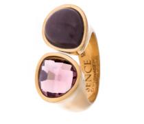Ring vergoldet mit Aventurin