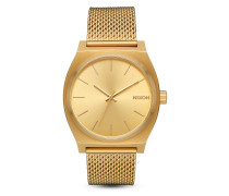 Quarzuhr Time Teller Milanese A1187-502-00 All Gold