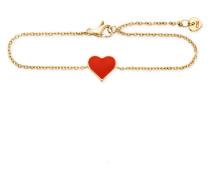 Armband Love Pop Art aus vergoldetem 925 Sterling Silber