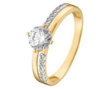 Ring aus 333 Gelbgold