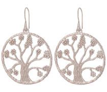 Ohrhänger Lebensbaum 925 Sterling Silber