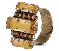 Ring Aztec mit Swarovski-Steinen