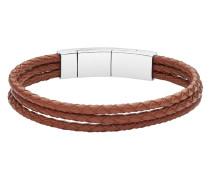 Armband Mens Vintage Casual aus Leder & Edelstahl