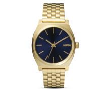Quarzuhr Time Teller A045 1931 All Light Gold / Cobalt
