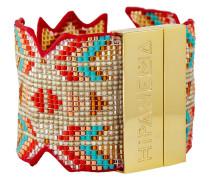 Armband Trinidad aus vergoldetem Edelstahl