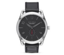 Quarzuhr C45 Leather A465 008 Black / Red