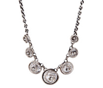 Halskette Classic Twist mit Swarovski-Steinen
