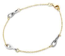 Armband aus 585 Bicolor-Gold