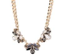 Halskette The Roaring 20s vergoldet mit Swarovski-Steinen