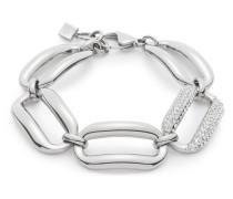 Armband Pesante aus Edelstahl mit Kristallen