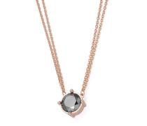 Halskette aus Edelstahl mit Hämatit