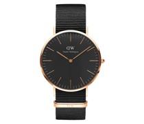 Unisexuhr Classic Black DW00100148