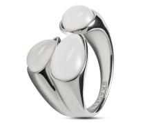 Ring Sea Glass aus Edelstahl
