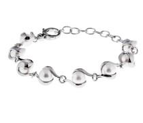 Armband Pearl aus Edelstahl mit Kunstperlen
