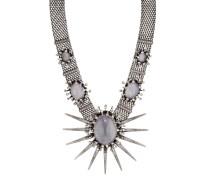 Halskette Galaxy in Glass mit Swarovski-Steinen