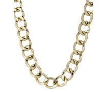 Halskette Chain Reaction vergoldet