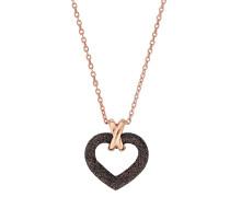 Halskette Polvere di Sogni aus rosévergoldetem 925 Sterling Silber