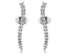Ear Cuffs aus Edelstahl mit Kristallen