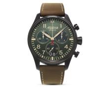 Schweizer Chronograph Startimer Pilot Big Date AL-372GR4FBS6