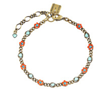 Armband Arsenic in Old Lace aus Metall mit Glassteinen